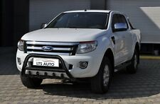 FORD RANGER STAINLESS STEEL BLACK AXLE NUDGE A-BAR, BULL BAR GUARD 2006-2011