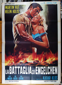 manifesto 2F film SMRT SI RIKA' ENGELCHEN - LA BATTAGLIA DI.. Cecoslovacchia