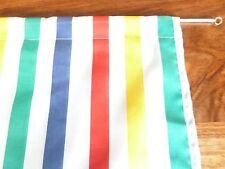 "Multi  coloured  broad stripes design design, cupboard, sink curtain 35"" x   42"""
