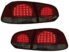 VW Golf 6 Dectane LED Rückleuchten Rot / Red Smoke /Rauch RV39DLRS E.Prüfzeichen