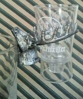 JAGERMEISTER Plastic Stag Head Shot Glass Holder with Clip Lot of (16) NIP