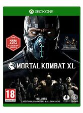 Mortal Kombat XL Xbox One NEW SEALED DISPATCHING TODAY ALL ORDERS PLACED BY 2 PM