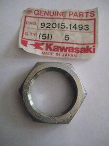 KAWASAKI TECATE/BAYOU/KLT160/KLT110/MOJAVE 32MM HUB NUT NOS!