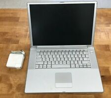 """Apple PowerBook G4 15"""" - Untested - FOR PARTS & ACCESSORIES"""