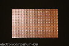 Lochrasterplatine, Streifenraster / Lötstreifen, RM 2,54mm, 160 x 100mm