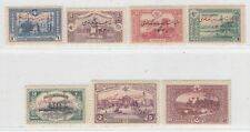 TURKEY 1914  ISSUE   UNUSED FULL SET  ISFILA 488/94 = MICHEL 252/58