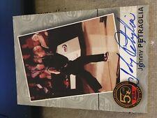 2009 PBA Bowling Autograph Johnny Petraglia