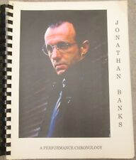 """Wiseguy Fanzine """"Johnathan Banks""""  A Biography, Collection of Roles"""