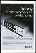 1968 JVC Nivico 5003 stereo receiver photo vintage print ad