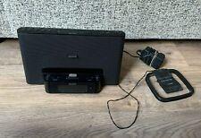 Genuine Sony ICF-DS15iP Personal Audio Docking System- Alarm Clock/ FM Radio