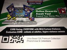Pokemon Ultra Beast Gx Pheromosa Celesteela Collection Box Online Code Messaged