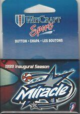 1999 ORLANDO MIRACLE WNBA LICENSED INAUGURAL SEASON PIN  *RARE* NEW WINCRAFT