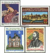 Österreich 1948,1949,1950,1951 (kompl.Ausg.) gestempelt 1989 Jettmar, Bruck, Pru