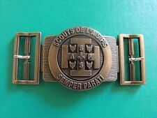N°1 insigne scout scoutisme scoute boucle de ceinturon buckle éclaireur