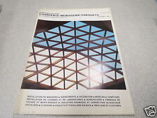 LE NOUVEAU JOURNAL DE CHARPENTE MENUISERIE PARQUETS N° 4 avril 1975 H VIAL *