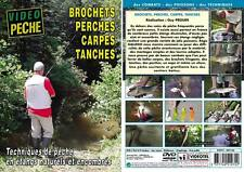 Brochets perches carpes tanches Techniques de pêche en étangs naturels et encomb