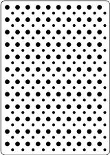 Spots 107355 Embossing Folder for Cardmaking, Scrapbooking, etc