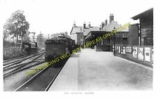 Denny Railway Station Photo. Larbert and Falkirk Lines. Caledonian Railway. (3)