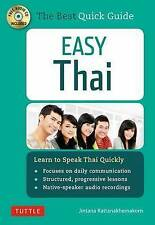 Easy Thai: Learn to Speak Thai Quickly by Jintana Rattanakhemakorn (Mixed media product, 2015)