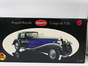 Bauer Bugatti Royale Coupe de Ville 1930 Black & Red - Limited Edition - NEW