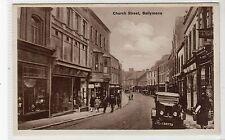 CHURCH STREET, BALLYMENA: Co Antrim postcard (C19589)