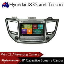 "8"" Car DVD GPS Navigation Head Unit for Hyundai ix35 Tucson 2015-2016"