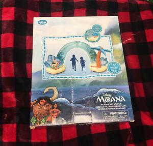 [New in Box/2019] Disney Moana Inflatable Wave Sprinkler!!  OOP/VHTF!!