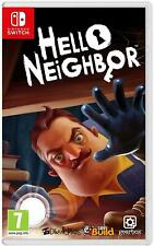 Hello Neighbor Nintendo Switch New Sealed 7+ Years