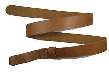 Guerre civile ceinture ceinture pistolet western marron tan aucune boucle r1653