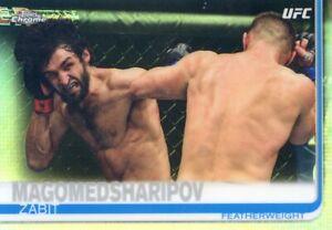 2019 TOPPS UFC CHROME REFRACTOR  ZABIT MAGOMEDSHARIPOV #18