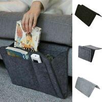 Home Hanging Bag Bedside Storage Organizer Bed Felt Pocket Sofa Phone Holder US