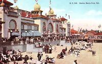 C.1910 Casino, Santa Cruz, Cal. Postcard P128