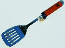 Aronson Grip It Slotted SPATULA TURNER Stainless Steel Brown Handle 12inch