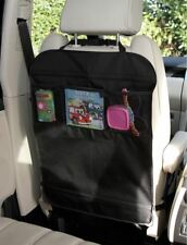 .Car Back Seat Scuff Protector Child Kick Mat with STORAGE POCKETS,  UK SELLER