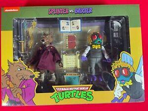 """Teenage Mutant Ninja Turtles Cartoon - 7""""  Splinter Vs. Baxter Target"""