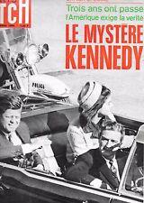 MATCH 26 novembre 1966 Le mystère KENNEDY -cahier spécial-