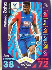 Match Attax 2016/17 Premier League - #083 Wilfried Zaha - Crystal Palace