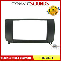 CT23RO01 Black Double Din CD Stereo Fascia Trim For Rover 75 1999-2005