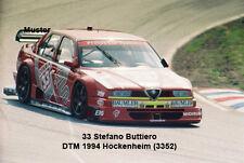 Foto 13x18 cm DTM 1994 Stefano BUTTIERO-ALFA ROMEO 155 v6 ti (02)