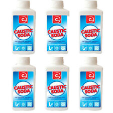 Caustic Powder Best Sink Toilet Drain Block Powder Cleaner Unblock Unblocker X 6