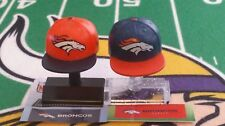 NFL Mad Lids Series 1 & 2 Denver Broncos 2-pack (2 mini caps/stands/stickers)