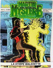 """tutto MARTIN MYSTÈRE n° 4 """"La stirpe maledetta"""" agosto 1989 ottimo"""
