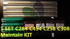 4 Drum+4 drum chip+4 blade KONICA C224C364C258c308c368c458c558c658c250ic300ic350