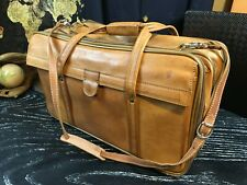 HARTMANN American Tan Belting Leather Duffle Travel Shoulder Bag With Strap