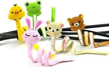 Cartoon Animal Cable Manager / Winder / Wrap / Tie / Organizer / Clips