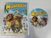 MADAGASCAR DVD + EXTRAS ESPAÑOL ENGLISH PORTUGUES DREAMWORKS