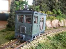 ON30 ,BOX CAB FREIGHT CAB  KIT , FITS  BACHMANN 0-4-0 SIDE ROD AS DONOR MOTOR