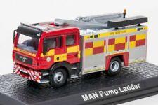 Fire Engine MAN TGL WRL Pump Ladder Atlas P110