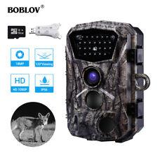 18MP 1080P HD IR Night Vision Hunting Trail Camera Security + 16GB + Card Reader