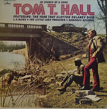 Tom T. Hall - in search of a song-Mercury Stereo SR 61350 LP (x411)